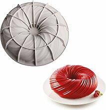 Wirbelform Silikonform Donut Kuchenform