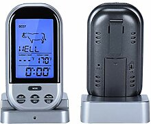 Wireless Remote Digital Fleischthermometer zum