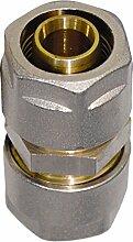 WIROFLEX , Rohr-Kupplung inklusive Adaptern ,