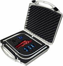 Wiroflex Werkzeugkoffer 9-teilig