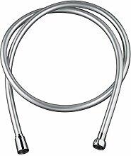 Wirquin 60720804 Silver Twist Duschschlauch, PVC,