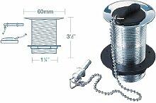 Wirquin WBK01CP Ablaufgarnitur für Waschbecken,