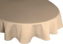 Wirth Tischdecke WIESSEE, rund Ø 160 cm, beige
