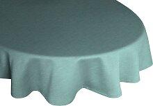 Wirth Tischdecke WIESSEE, rund Ø 160 cm, grün