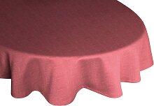 Wirth Tischdecke WIESSEE, rund Ø 160 cm, rosa