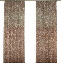 Wirth Vorhang Daniela 145 cm, Kräuselband, 135 cm