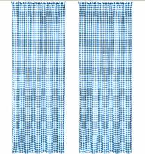 Wirth Vorhang Finja 125 cm, Kräuselband, 55 cm