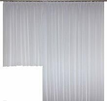 Wirth Vorhang nach Maß Chloé 125 cm, Faltenband