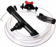 wishfive 2,5cm Bewässerung Venturi Dünger Injektoren Gerät Filter-Set Tube