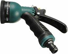 wishfive 8Sprühen Funktionen Verstellbare Spritze Garten-Bewässerung für Pflanzen Spray Düse mit Konnektoren