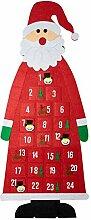 Wishwin Weihnachts Adventskalender mit Taschen