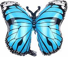 Wisilan Luftballons großer Schmetterling Form
