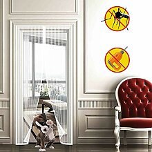 WISKEO Fliegengitter Tür Magnet Insektenschutz,