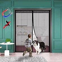 WISKEO Fliegengitter Tür Magnetisch