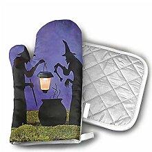 Witch Cauldron Pot Solar beleuchtete Laterne