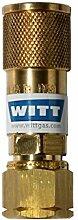 Witt SK100-3 Schnellkupplung Propangas Camping Gas