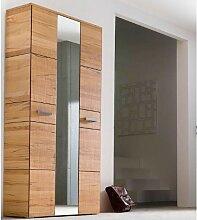 Wittenbreder Massello 510 Kompakt Garderobe für Flur und Garderobe Schrank in Kernbuche massiv Glatt und Sägerauh