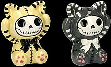 Witzige Furry-Bones Fantasy-Figuren als Salz und
