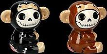 Witzige Furry-Bones Fantasy Figuren als Salz und