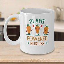 Witzige Geschenkidee für Vegane Kaffeetasse,