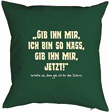 Witziges Sofa-/Dekokissen für Erwachsene: Gib ihn
