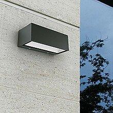 WIZ LED Außenleuchte Gemini aus Aluminium in