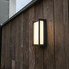 WIZ LED Außenwandleuchte Qubo aus Aluminium in