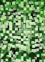 Wizard + Genius 5002-2V-1 Fototapete 3D Squares,