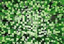 Wizard + Genius 5002-4P-1 Fototapete 3D Squares,