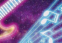 Wizard + Genius 5013-4P-1 Fototapete Kids Guitar