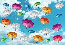 Wizard + Genius 5025-4V-1 Fototapete Art Umbrellas