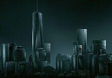 Wizard + Genius 5041-4P-1 Fototapete Dark New York