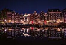 Wizard + Genius 5048-4V-1 Fototapete Amsterdam By