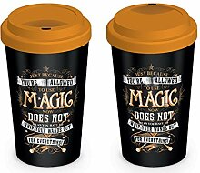Wizarding World MGT25010 Becher, Mehrfarbig