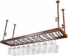WJHCDDA Weinregale Rack-Shelf Goblet Rack-Antike