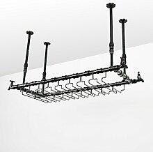 WJJ Wein-Racks Retro Industrial Wind Bar