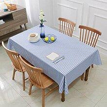 WJJYTX Wachstuch tischdecke, Square Tablecloth for