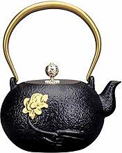 WJMLS Gusseiserne Teekanne 1.2L Japanische