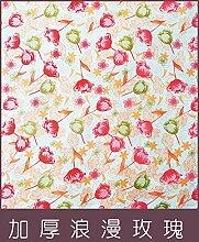 wjp Vereinfachtes Moderne Möbel Basteln Schrank Kleiderschrank Stützgewebe w-656 D'épaisseur de tissu Oxford Rose romantique entièrement fermé