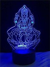 WJPDELP-YEDE 3D Joss Vier Hand Figur Von Buddha