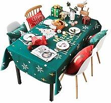 WJS Weihnachtstag Nordic Stoff Tischdecke