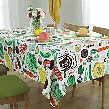 Wjsw Tischdecke mit kreativem Cartoon-Muster,