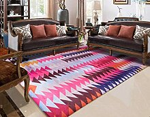 WJSWM Modern Minimalist Living Room Carpet,