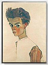 WJWGP Egon Schiele Leinwandbild KöRperfarbe