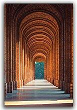 WJWGP Gotische Kirche Korridor GemäLdewerk Bild