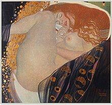 WJWGP Gustav Klimt Plakat 《Danae》 Nackte Frau