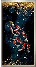 WJWGP Koi Fisch Karpfen Lotus Teich Bilder