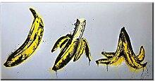WJWGP Leinwand Bild Lustige Bananenplakate Und