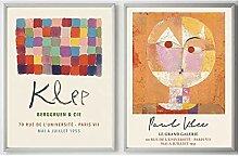 WJWGP Paul Klee GemäLdedrucke Vintage