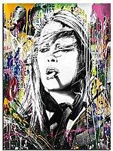 WJWGP PersöNlichkeit Graffiti GemäLdeplakat